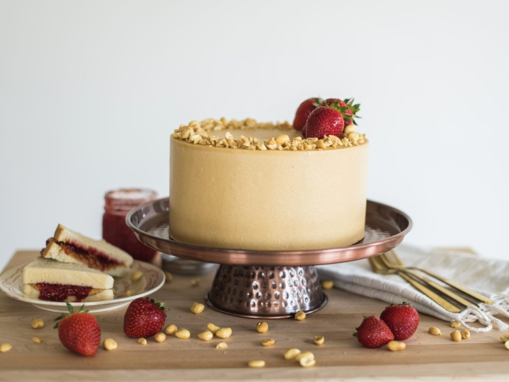 Peanut Butter and Jelly Cake | Cake by Courtney