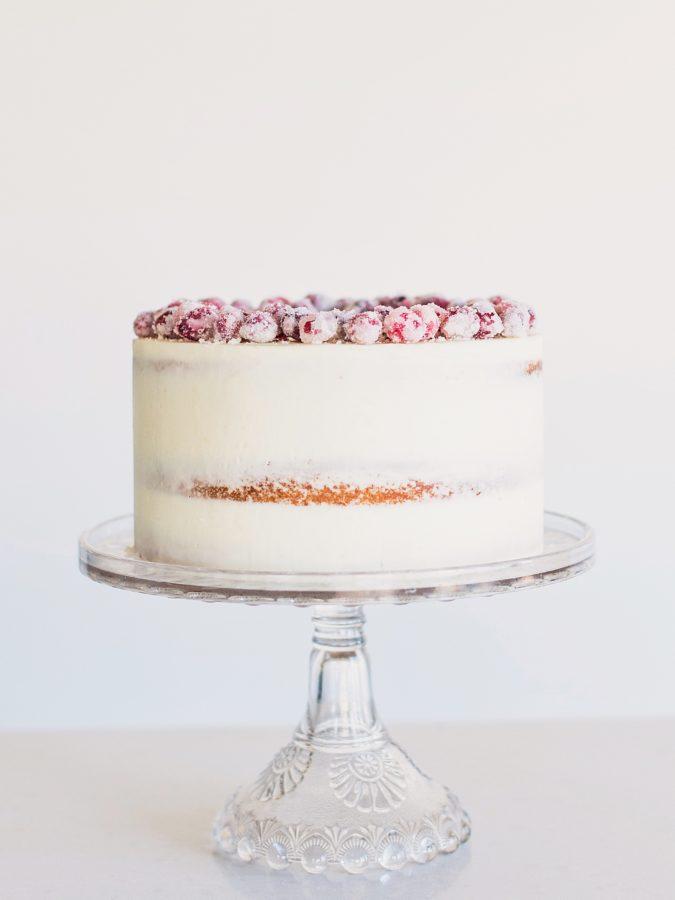 White Chocolate Cranberry Cake #whitechocolatecranberrycake #whitechocolatecake #cranberry #poundcake #wintercake #christmascake #easychristmascake #cake