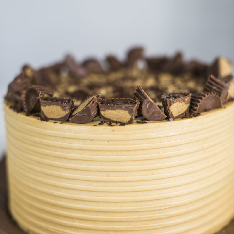 Chocolate Peanut Butter Cake | Cake by Courtney