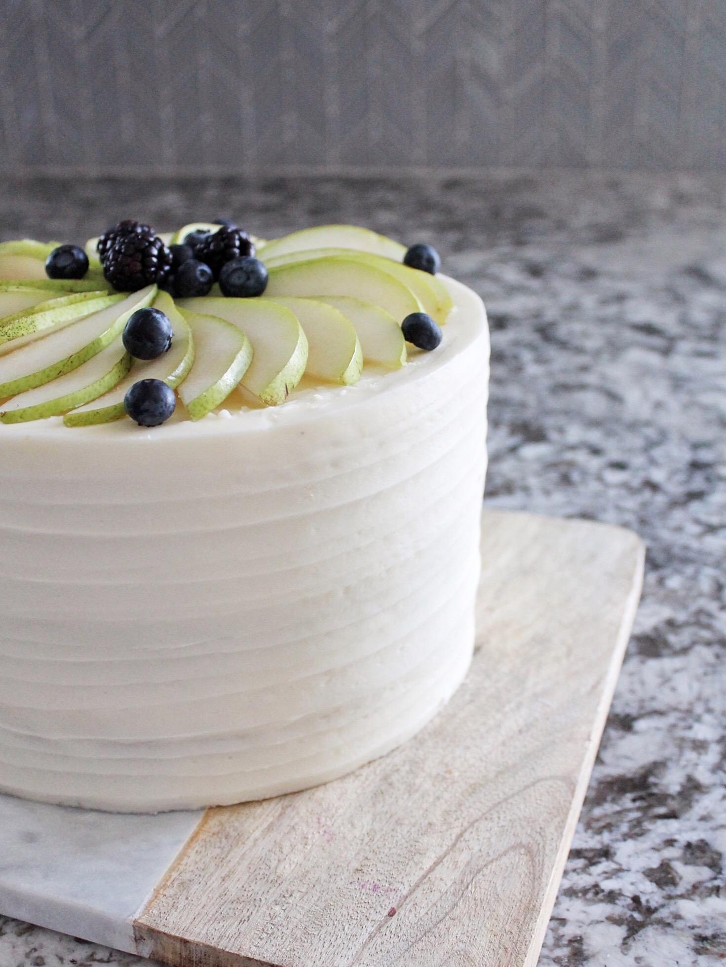 Cake By Courtney Honey Pear Upside Down Cake