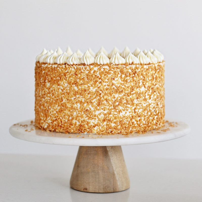 Coconut Cream Cake | Cake by Courtney