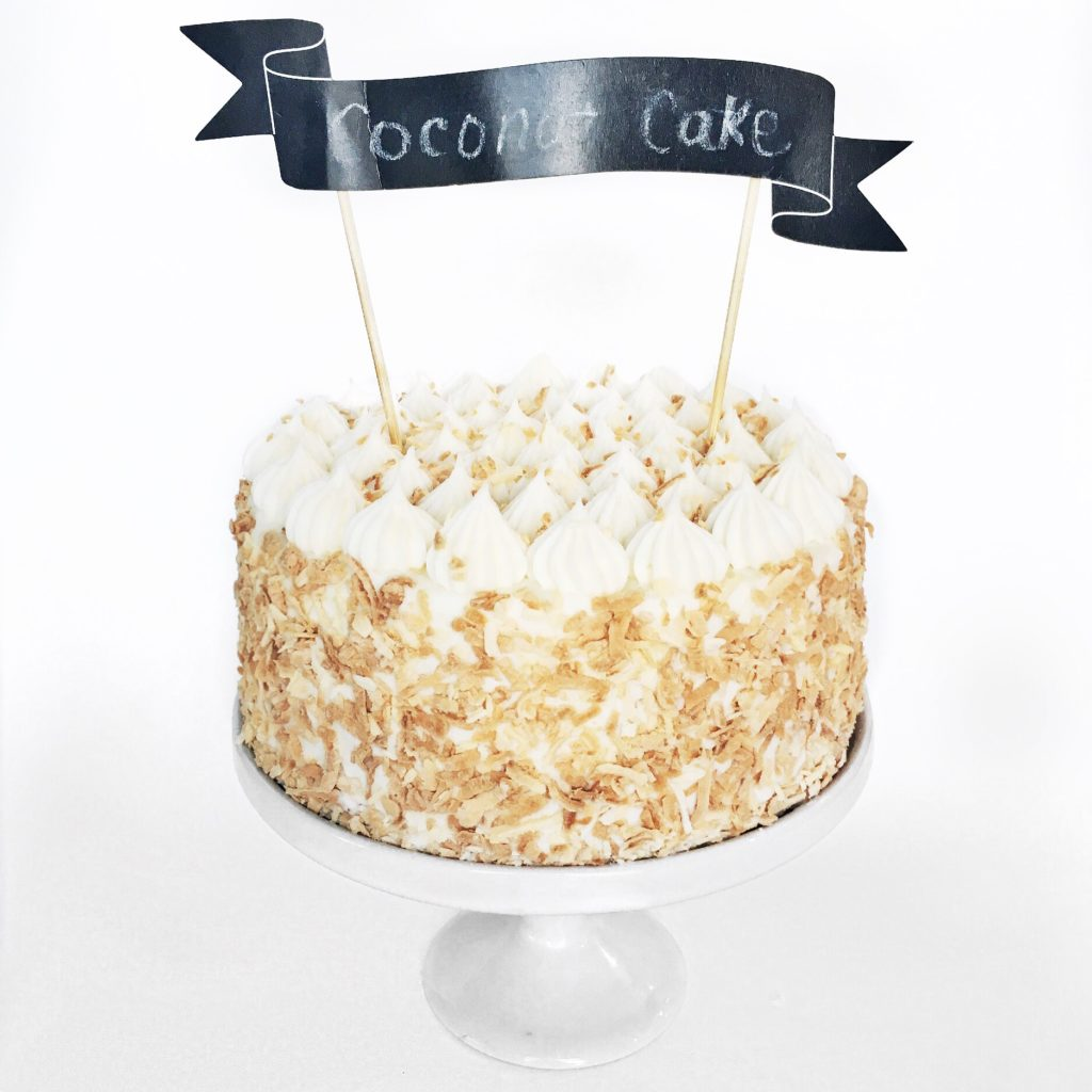 Coconut Cream Cake | Cake by Courtney