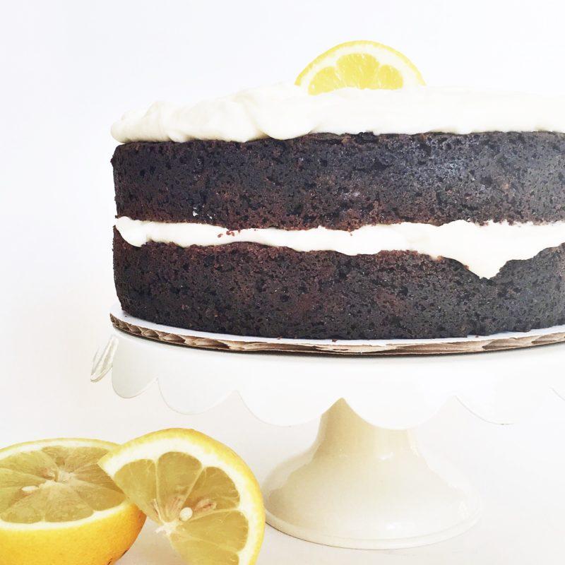 Chocolate Lemon Zucchini Cake | Cake by Courtney