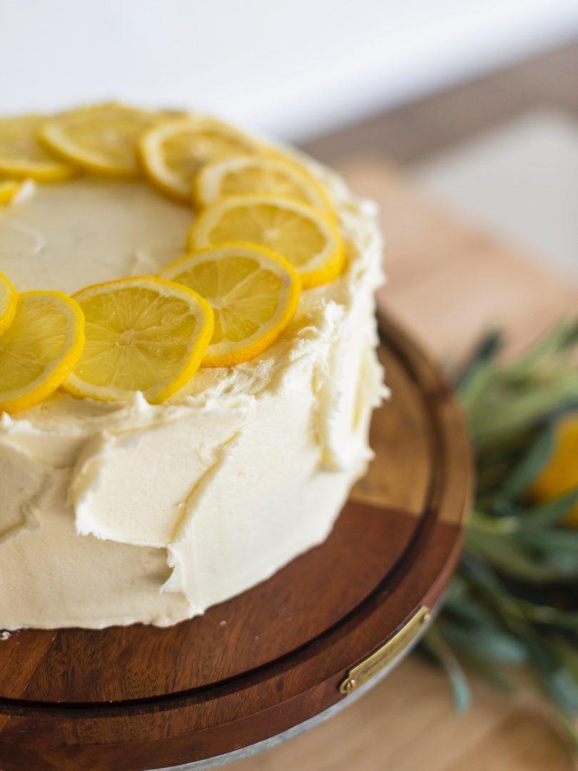 Cake By Courtney Chocolate Lemon Zucchini Cake