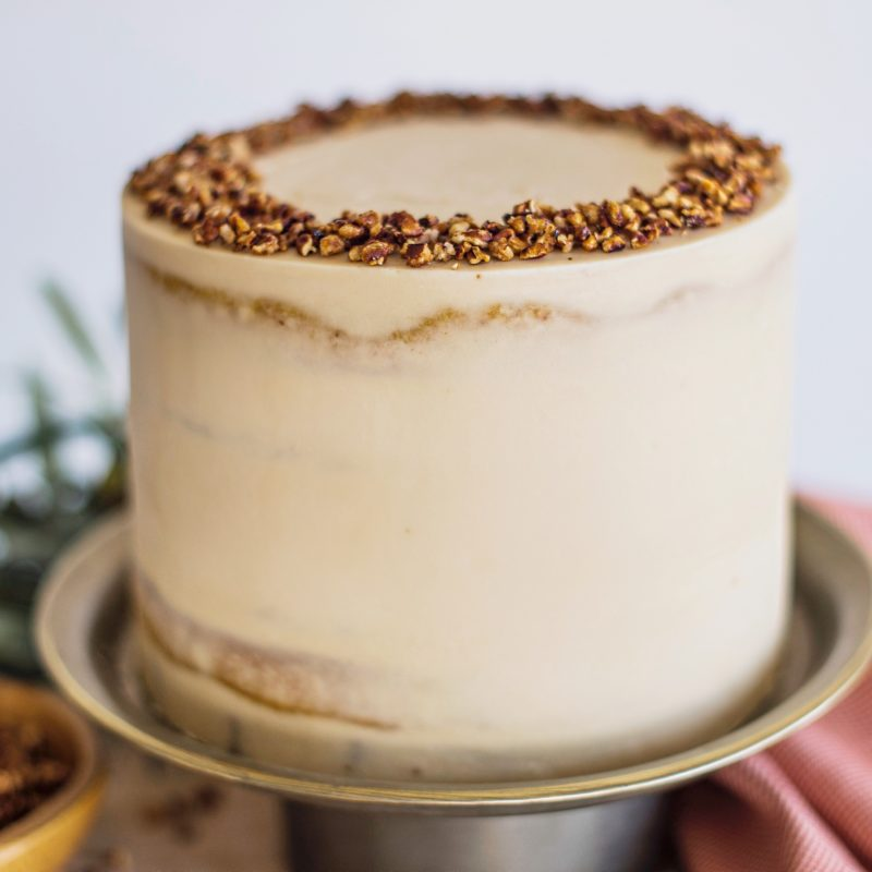 Butternut Squash Gingersnap Cake | Cake by Courtney