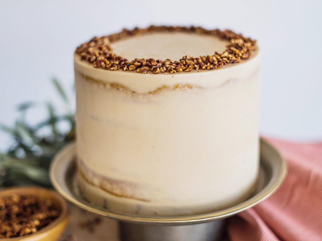 Butternut Squash Gingersnap Cake