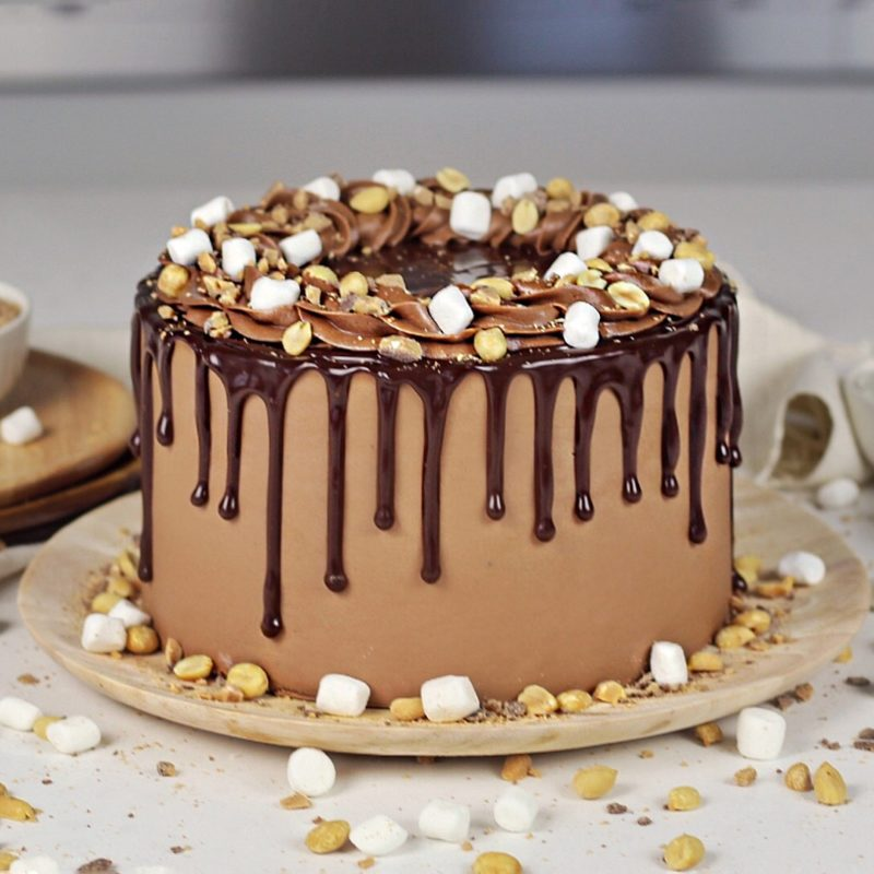 Rocky Road Cake | Cake by Courtney
