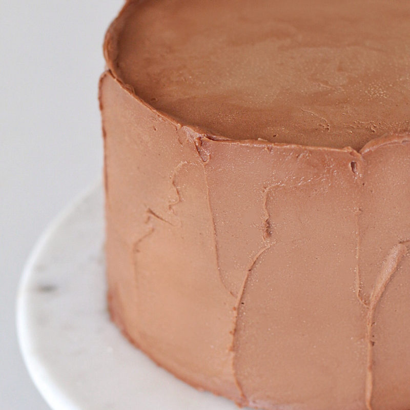 Chocolate Buttercream | Cake by Courtney