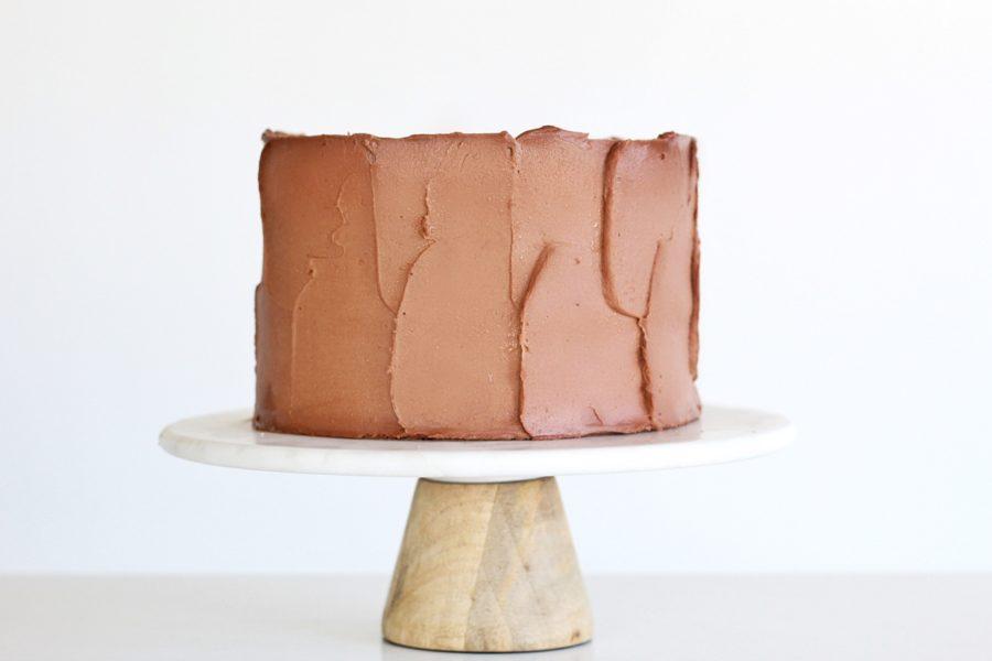 German Chocolate Cake #cakebycourtney #germanchocolatecake #chocolatecake #chocolatefrosting #milkbar #cake #easychocolatecake