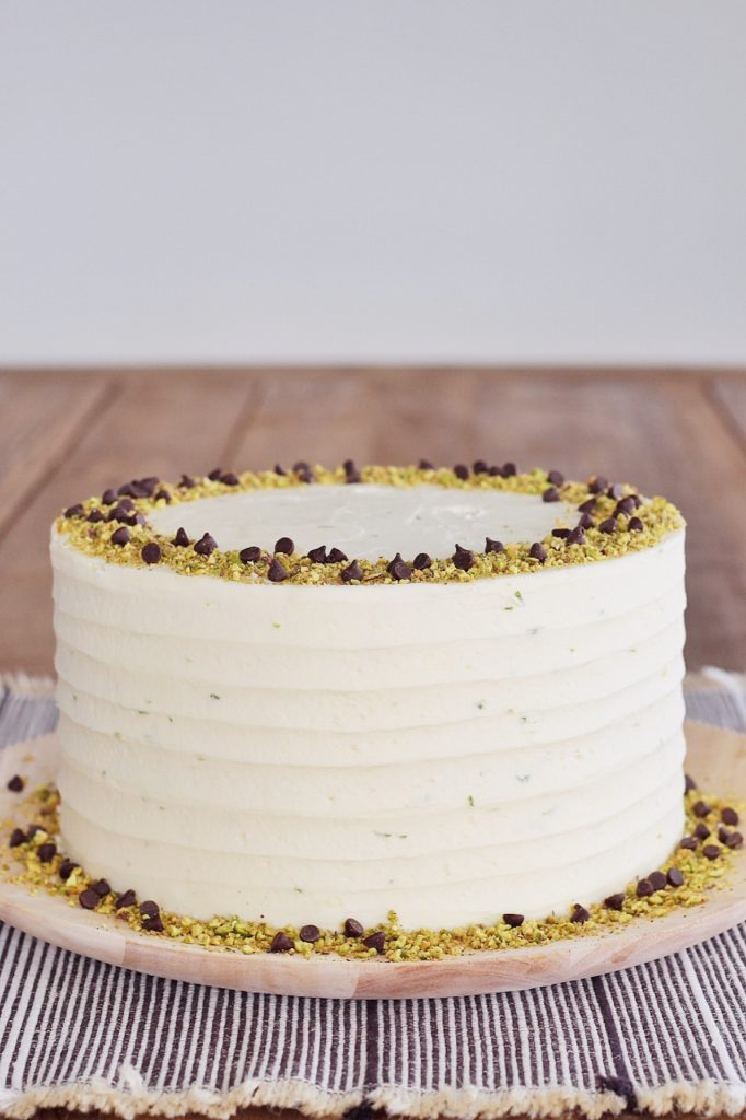 Pistachio Chocolate Chip Cake | Cake by Courtney