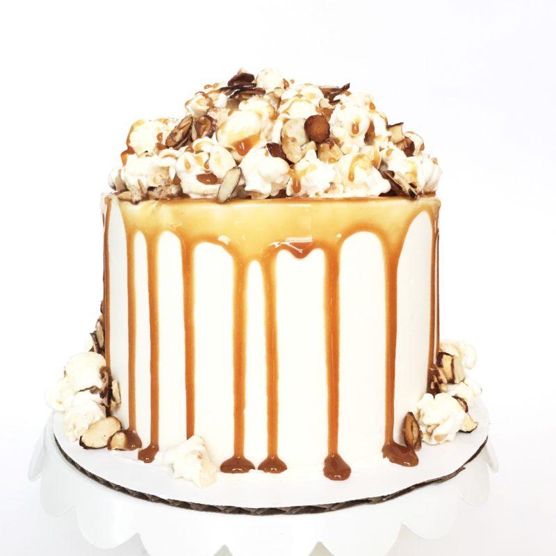 Caramel Apple Almond Cake | Cake by Courtney