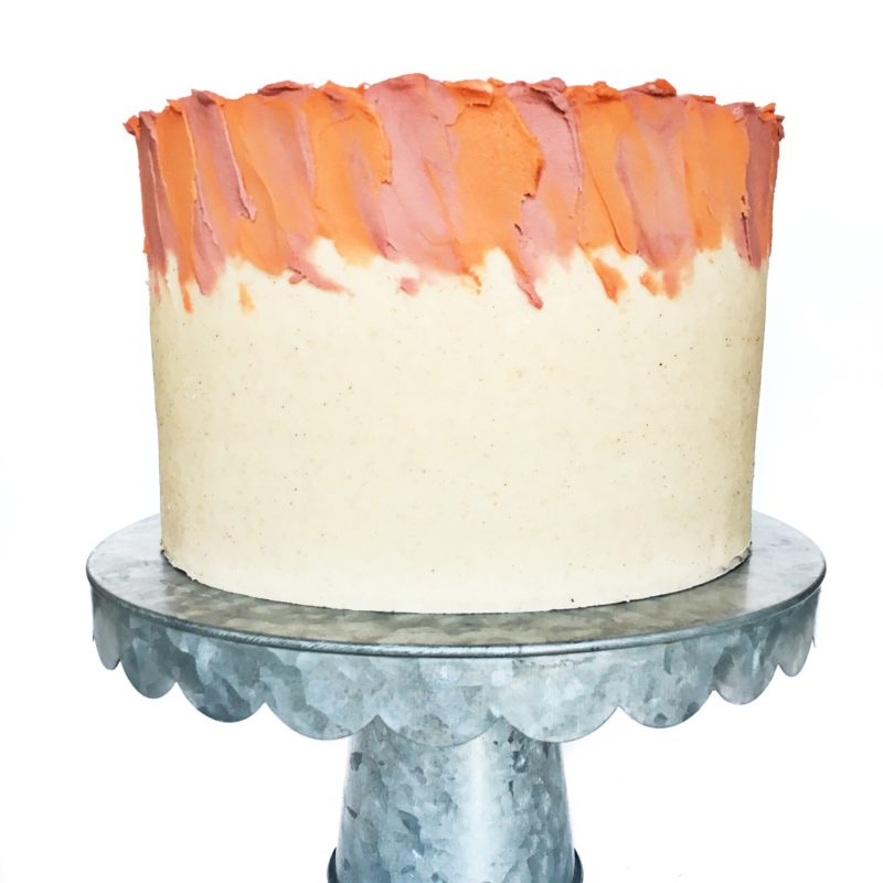 Butternut Squash Pecan Cake with Gingersnap Cookie and Maple Cinnamon Cream Cheese Frosting | Cake by Courtney
