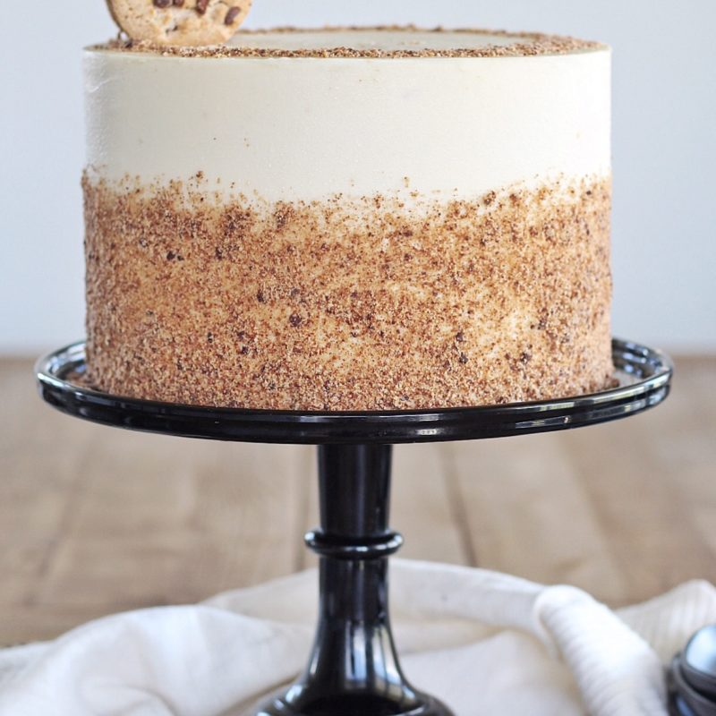 Chocolate Chip Cookie Cake | Cake by Courtney