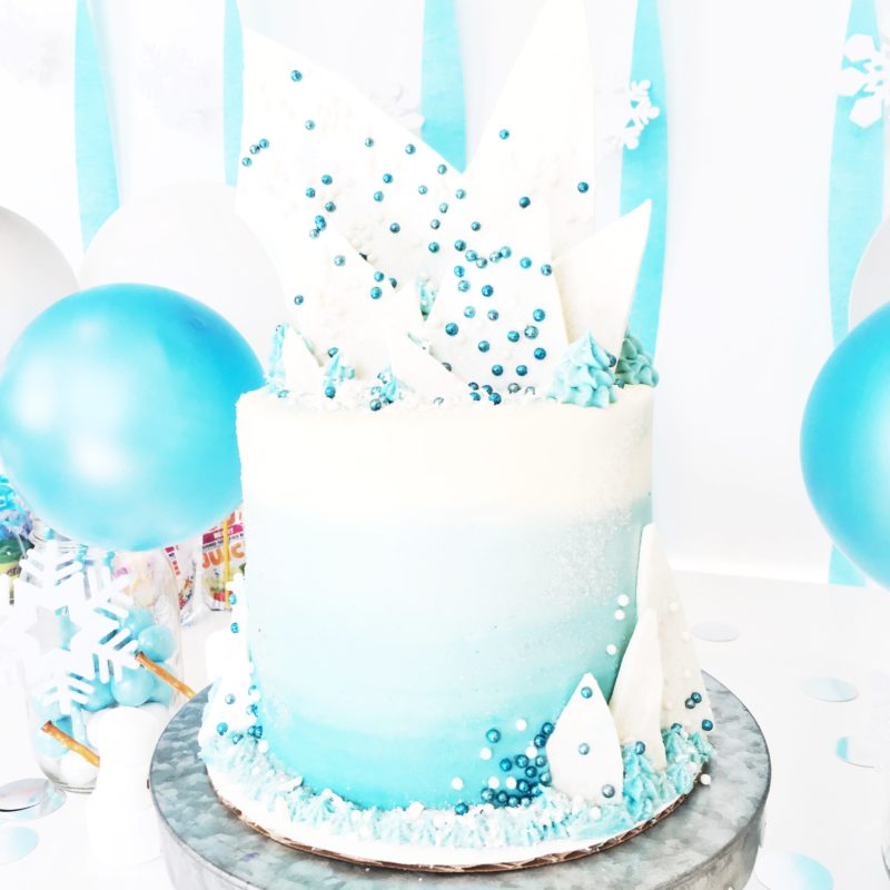 "Avery's ""Frozen"" Birthday | Cake by Courtney"