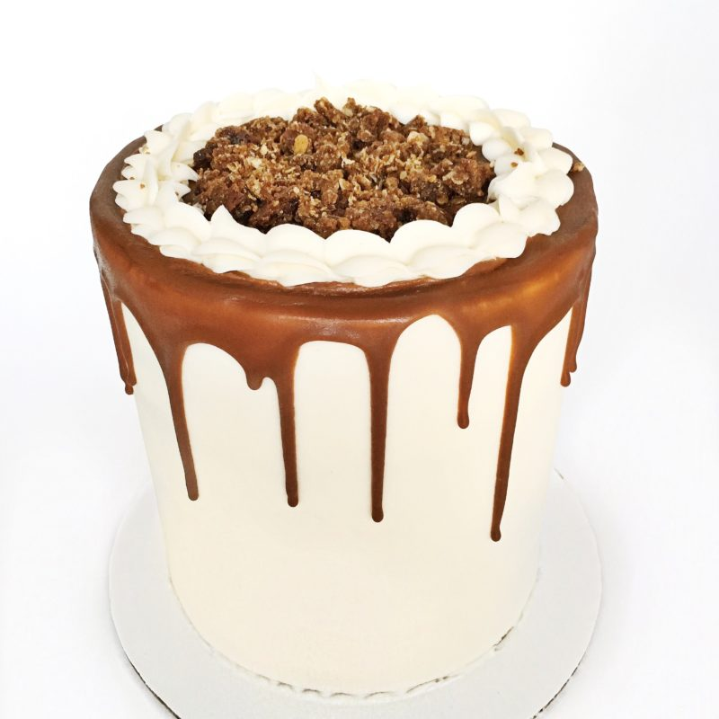 Pumpkin Gingersnap Cake | Cake by Courtney