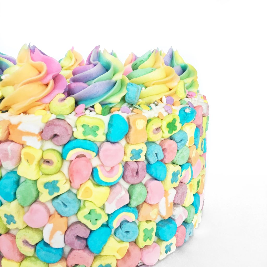 Almond Pistachio (Lucky Charms) Cake | Cake by Courtney