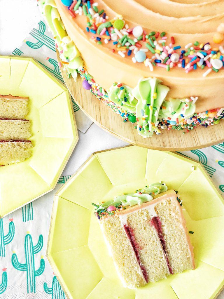 Rainbow Sherbet Cake | Cake by Courtney