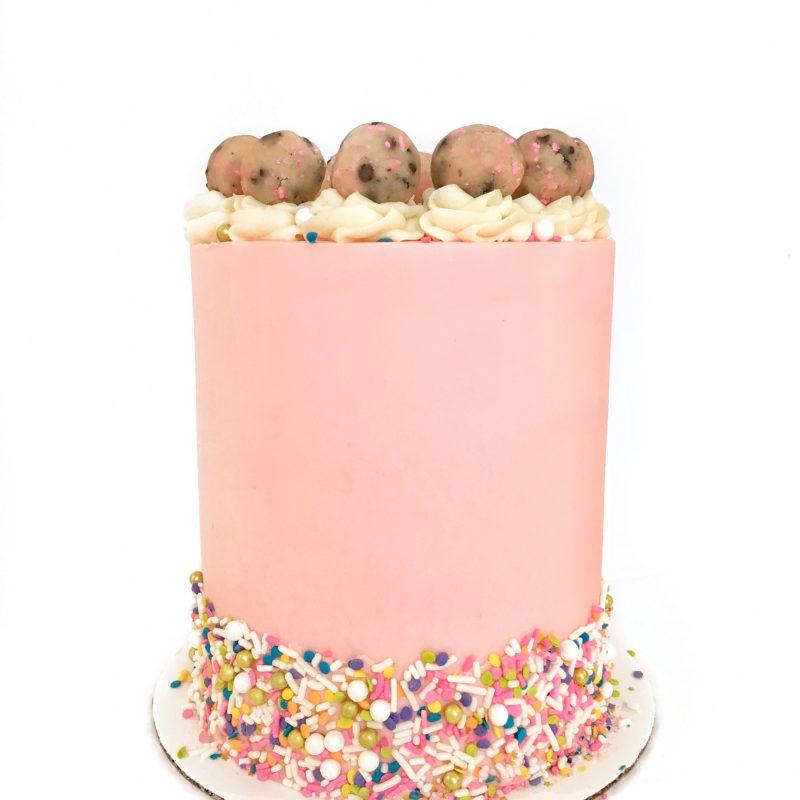 Sprinkle Cookie Dough Cake | Cake by Courtney
