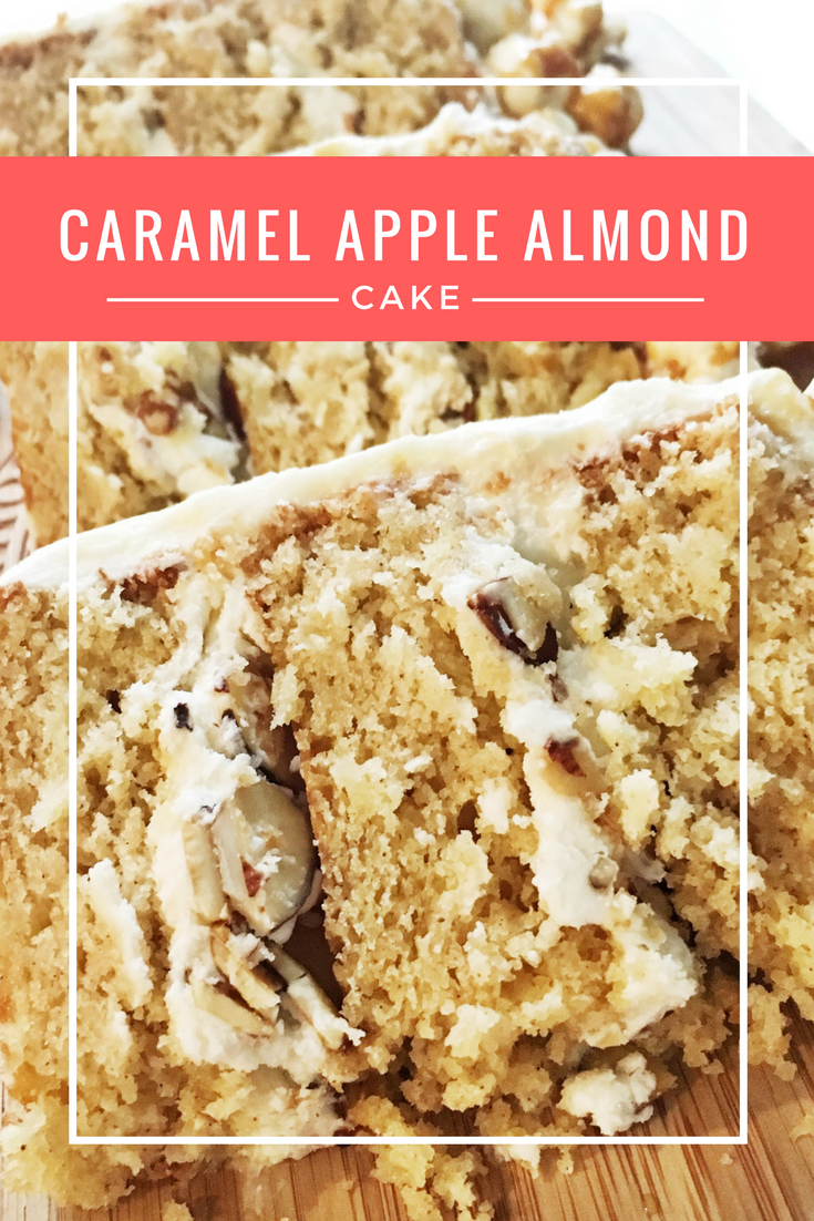 Caramel Apple Cake With Salted Caramel Frosting From Cake Mix