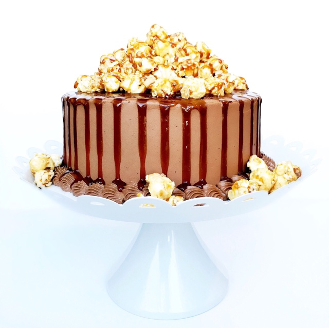 Chocolate Dulce de Leche Cake | Cake by Courtney