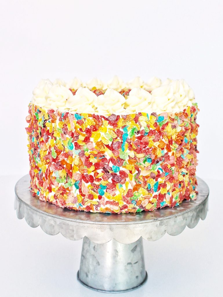 Fruity Pebbles Cake | Cake by Courtney