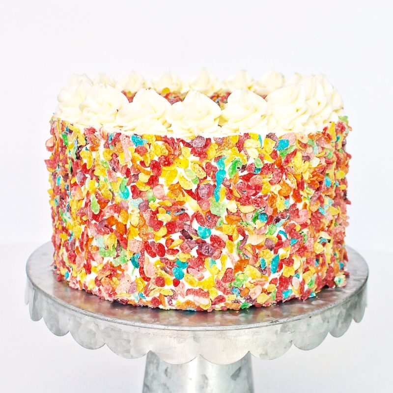 Fruity Pebbles Cake | Cake by Courtney