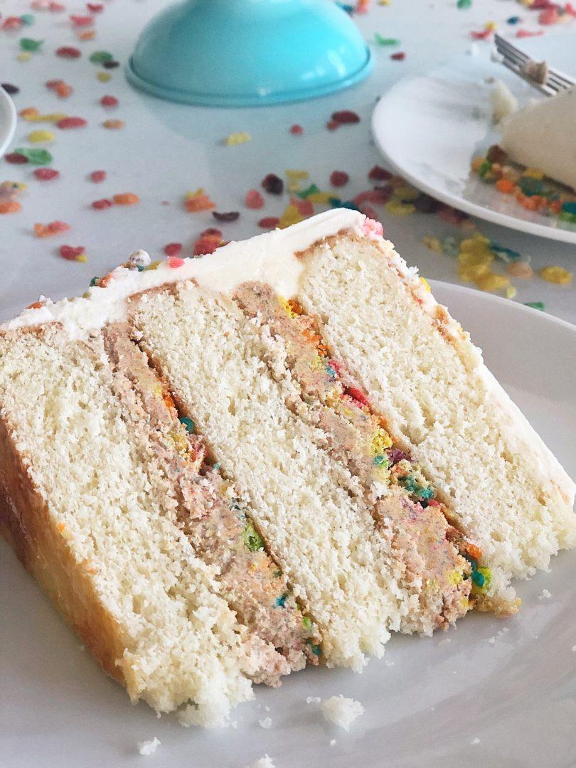 Fruity Pebbles Cake Recipe