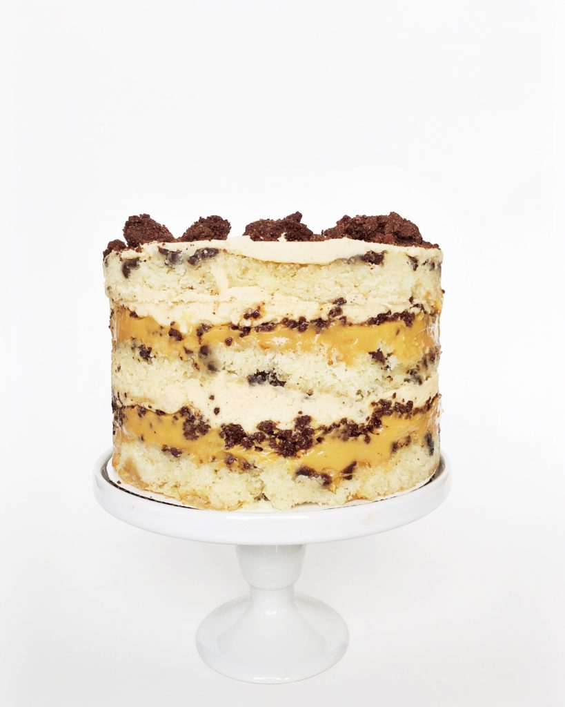 Chocolate Chip Butterscotch Cake | Cake by Courtney