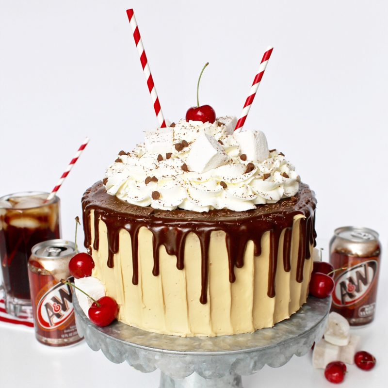 Root Beer Float Cake | Cake by Courtney