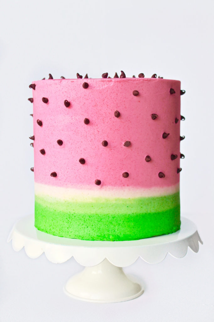 Watermelon Lime Cake | Cake by Courtney