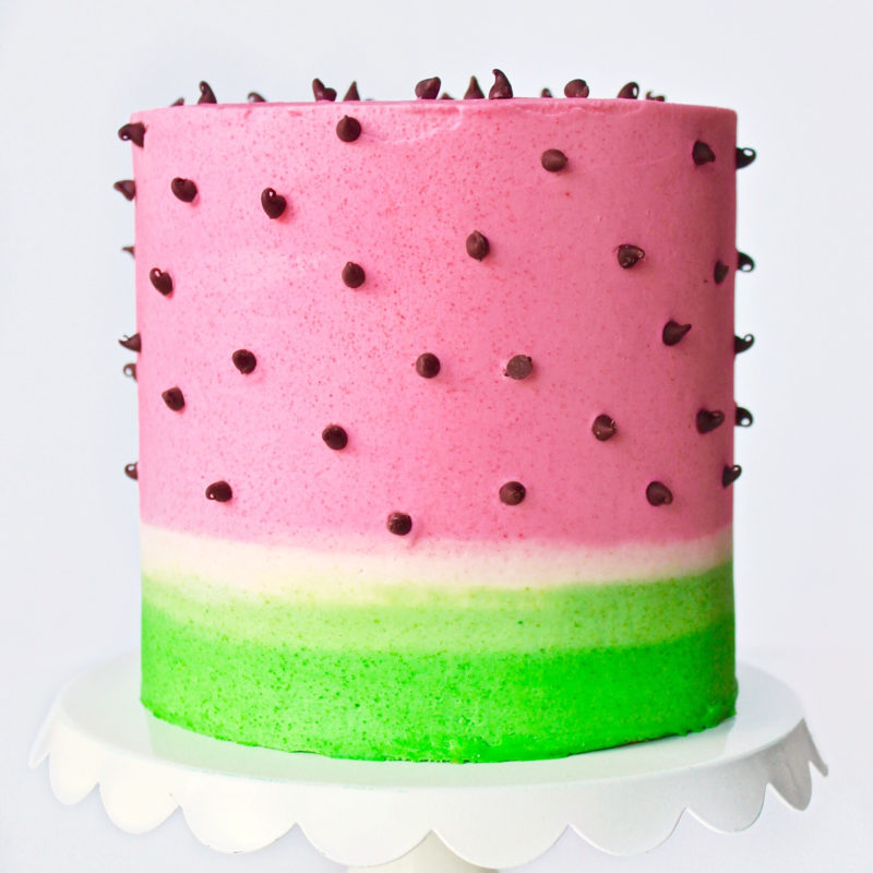 Watermelon Lime Cake | Cake by Courtney