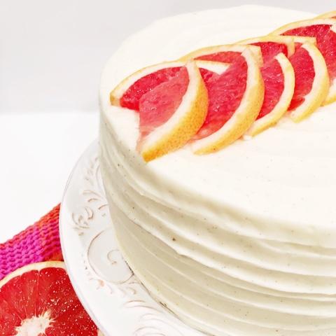 Grapefruit Poppy Seed Cake | Cake by Courtney