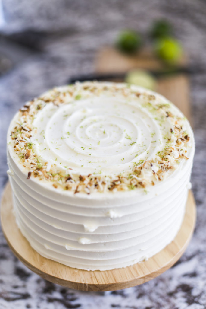 Coconut Key Lime Pie Cake | Cake by Courtney