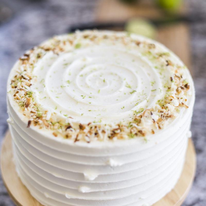 Coconut Key Lime Pie Cake | Cake by Courtney