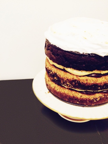 Peanut Butter S'mores Cake | Cake by Courtney