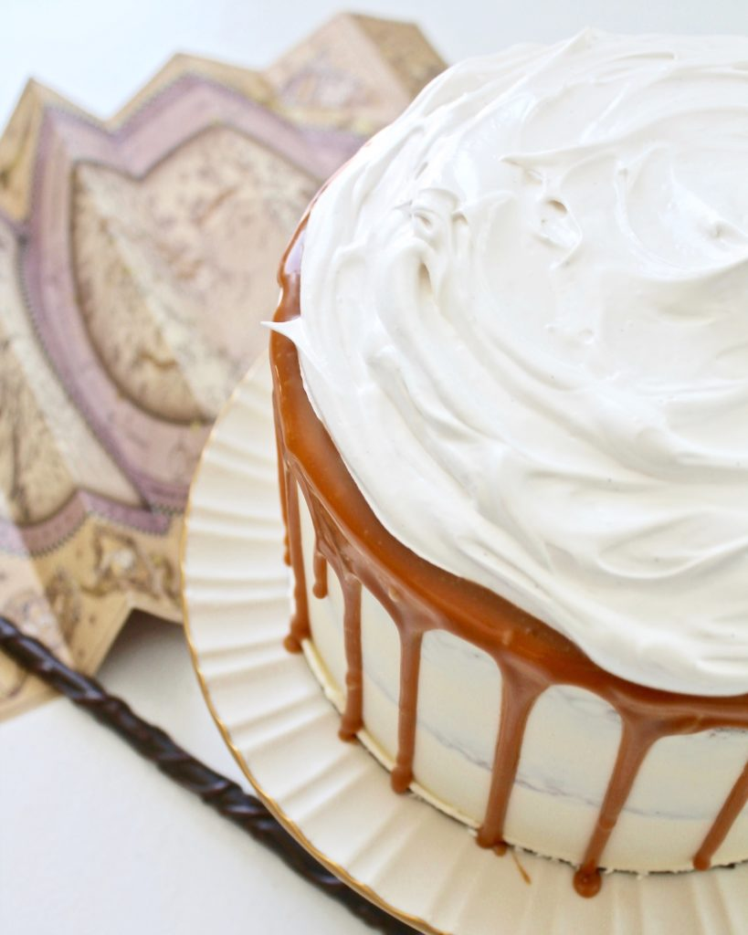 Butterbeer Cake | Cake by Courtney