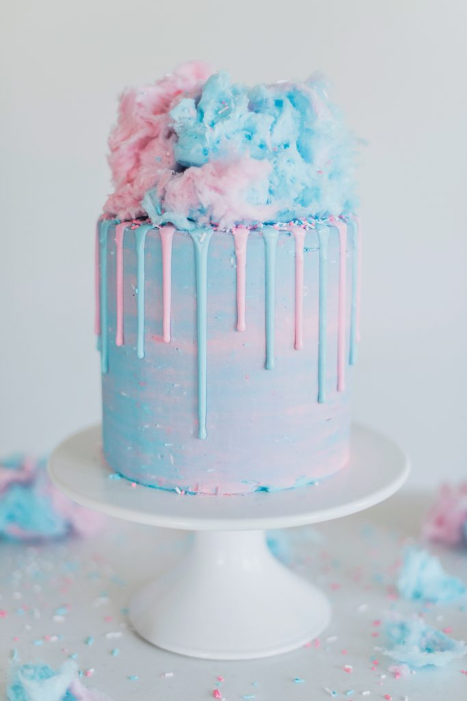Cotton Candy Cake | Cake by Courtney