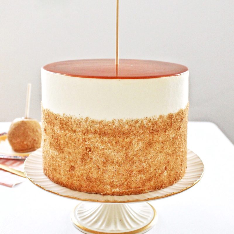 Caramel Apple Cake | Cake by Courtney