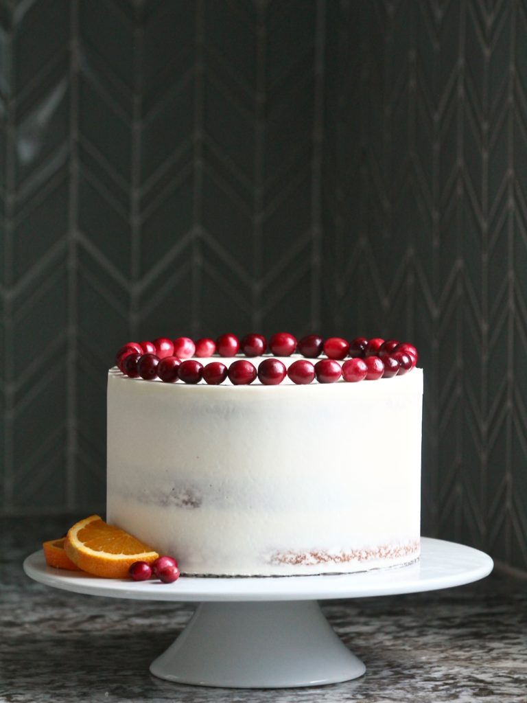 Citrus Cranberry Cake | Cake by Courtney