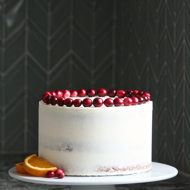 Citrus Cranberry Cake | Cake by Courtney