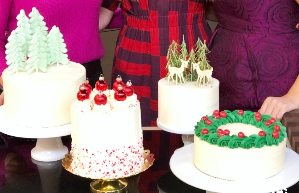Christmas Cake Decorating Ideas | Cake by Courtney