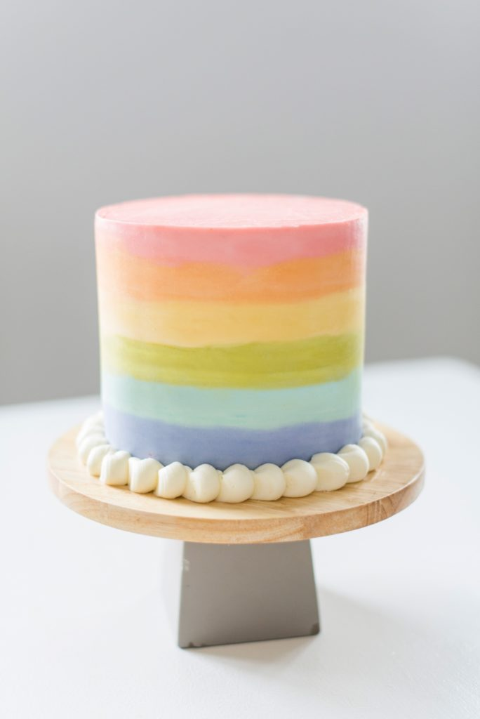 Green Velvet Rainbow Cake | Cake by Courtney