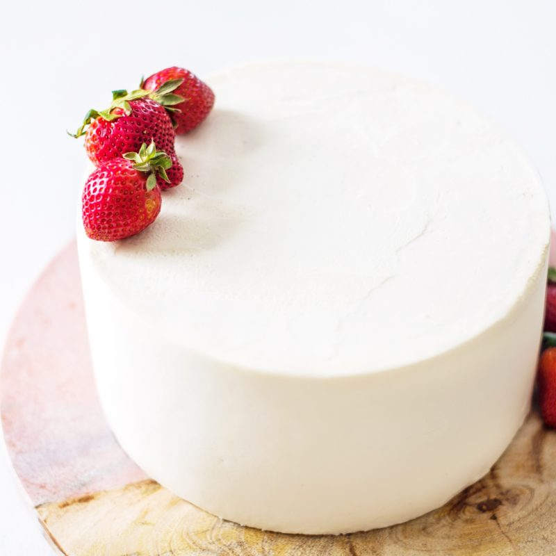 Egg-Free and Dairy-Free Vanilla Cake | Cake by Courtney