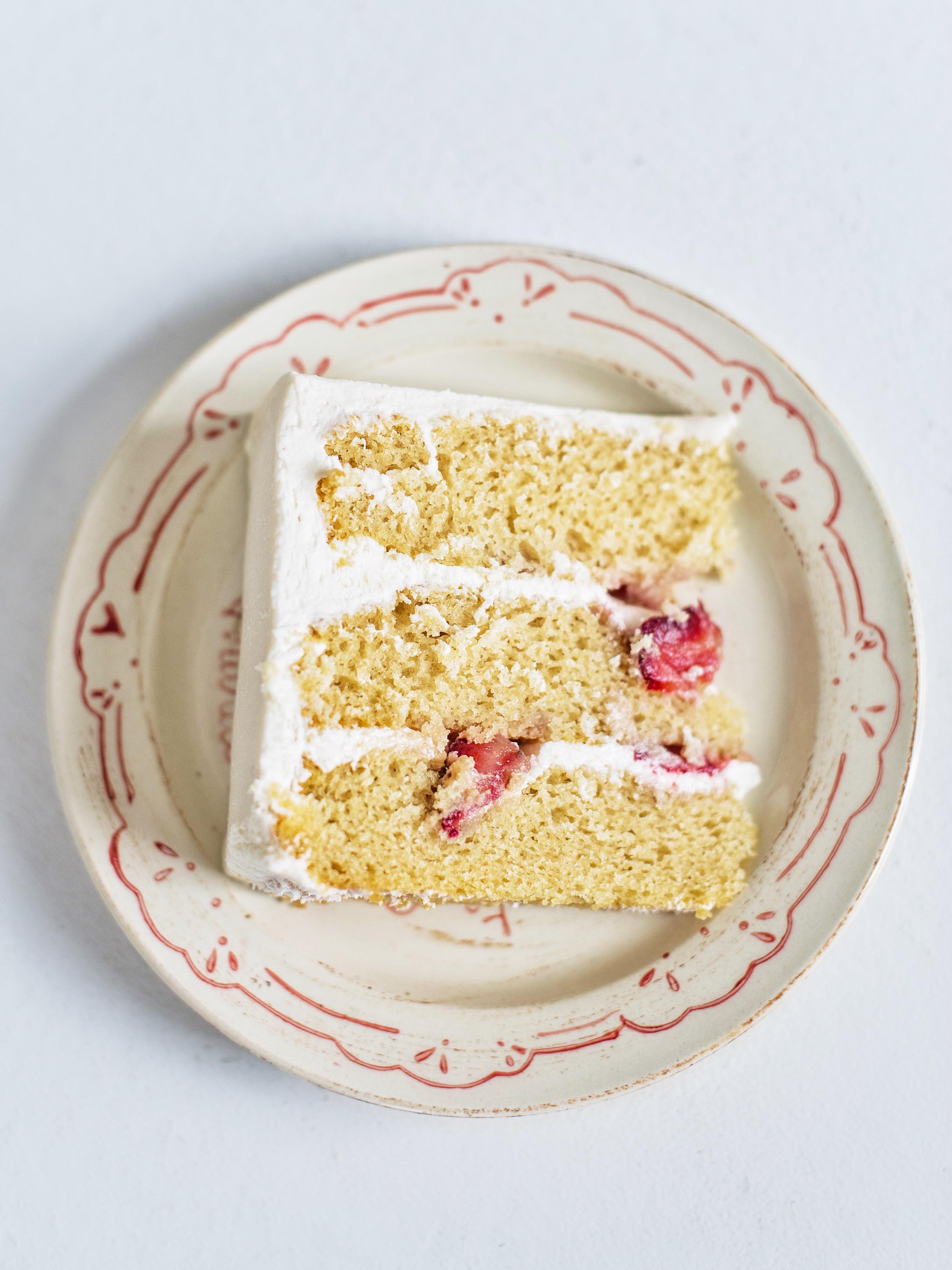 Egg Free and Dairy Free Vanilla Cake