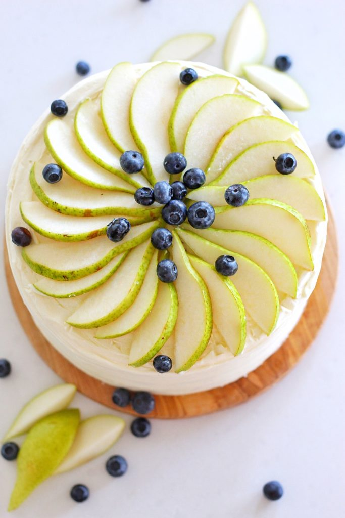 Honey Pear Upside Down Cake | Cake by Courtney
