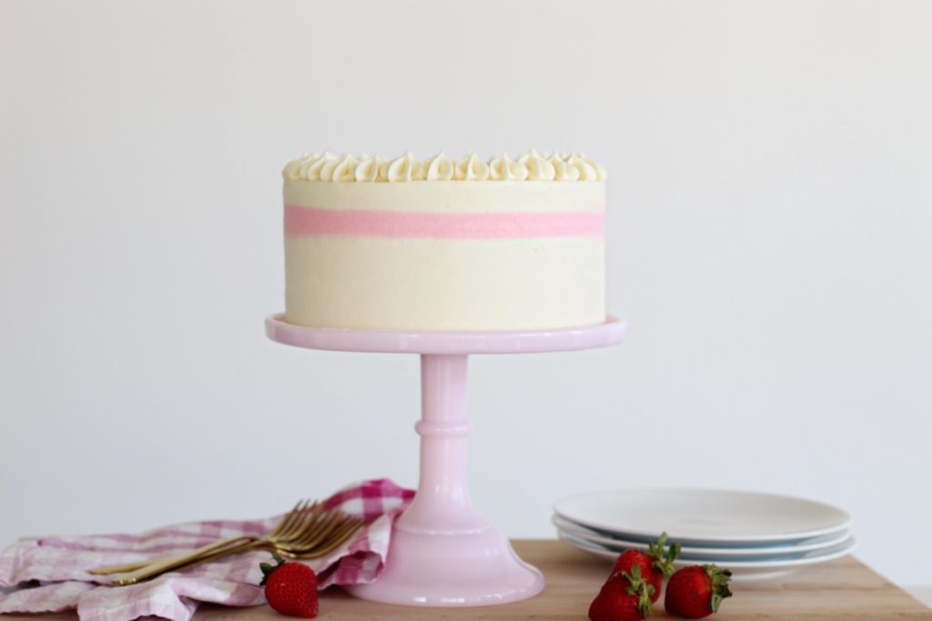 Strawberry Cake | Cake by Courtney