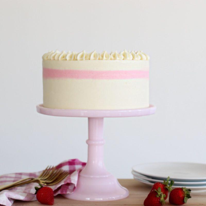 Strawberry Cake | Cake by Courtney