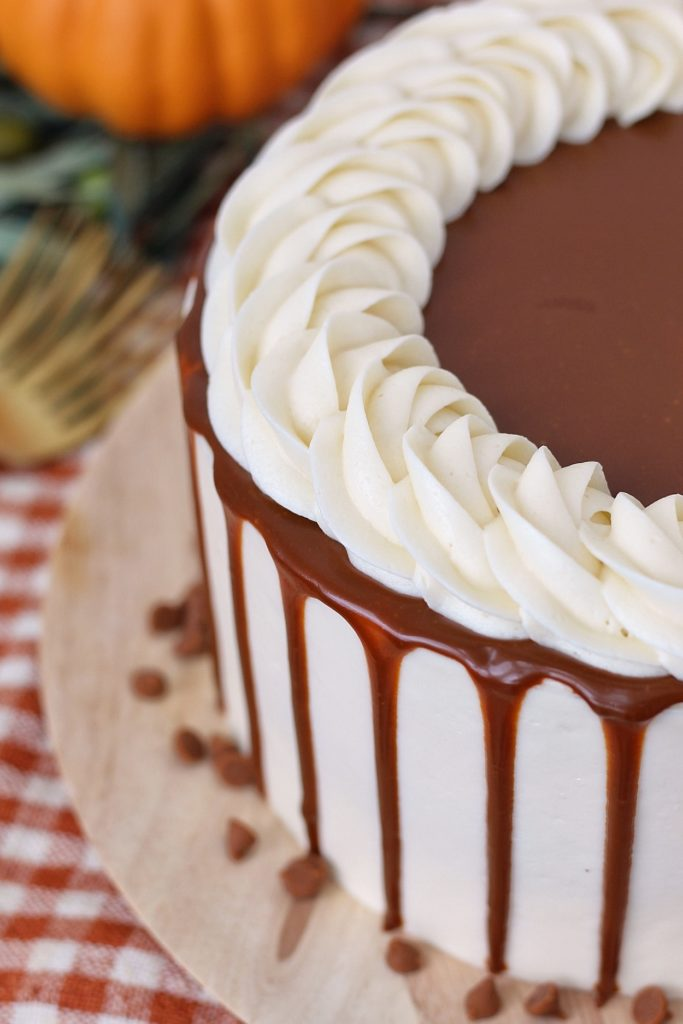 Pumpkin Gingersnap Cake | Cake by Courtney