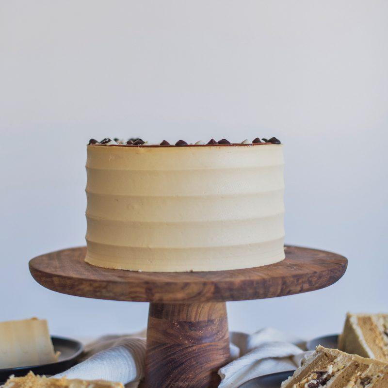 Triple Chocolate Pecan Pie Cake
