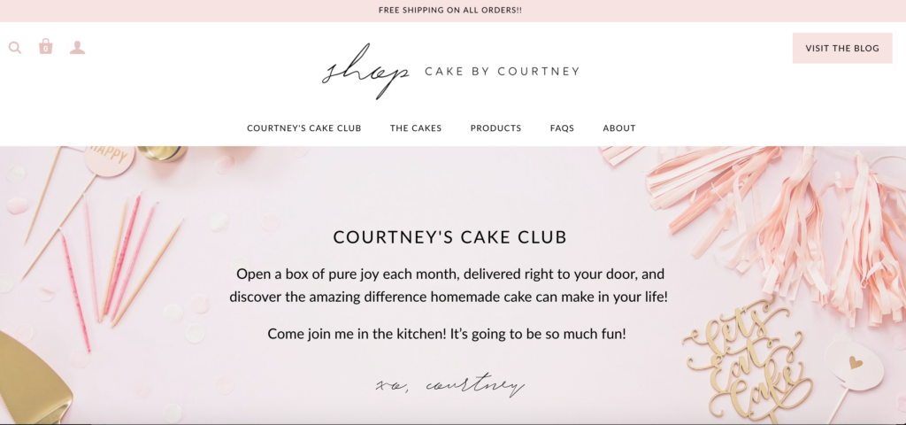 Shop Cake by Courtney | Cake by Courtney